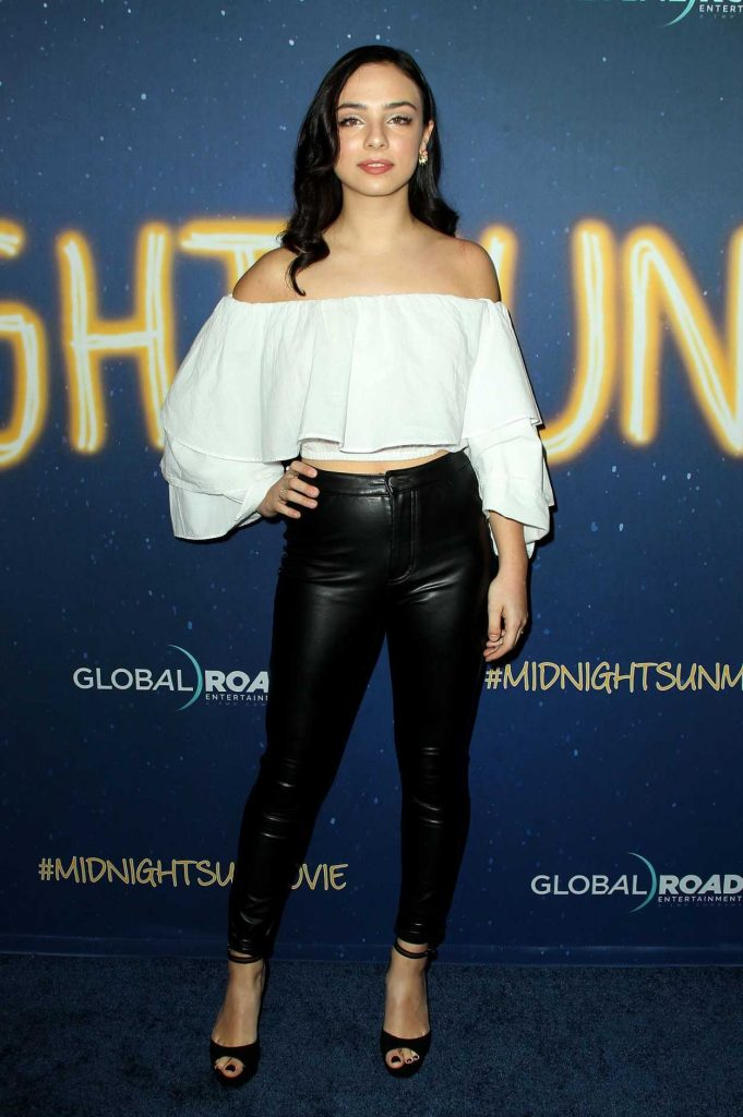 Fiona Palomo at the Midnight Sun Premiere in Los Angeles 03/15/2018-1
