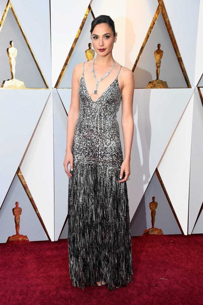 Gal Gadot at the 90th Annual Academy Awards in Los Angeles 03/04/2018-1