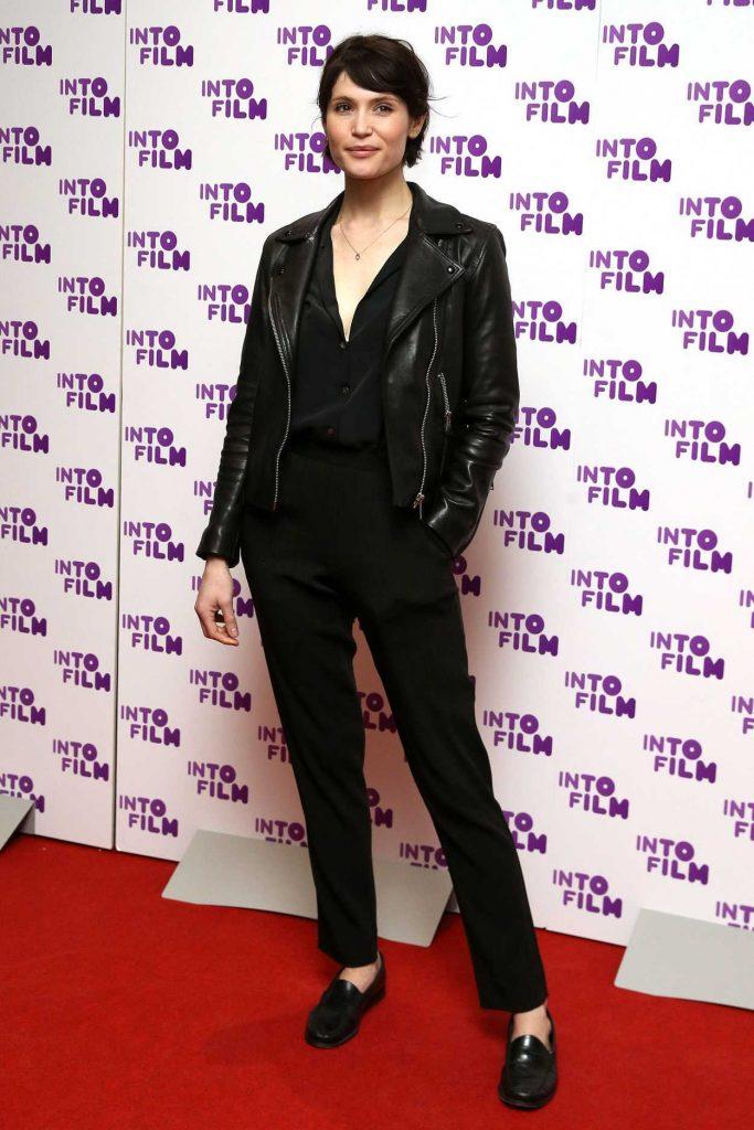 Gemma Arterton Attends 2018 Into Film Awards in London 03/13/2018-1