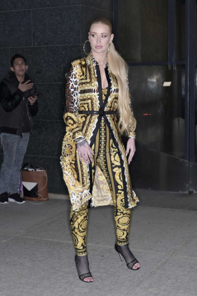 Iggy Azalea Arrives at the Watch What Happens Live TV Show in New York 03/18/2018-2