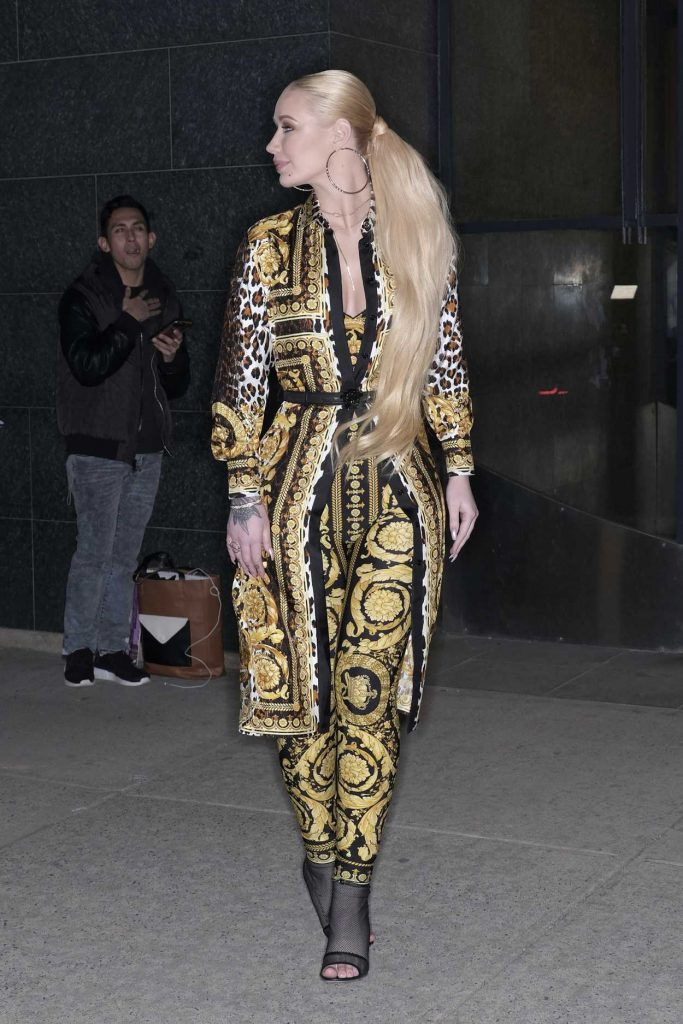 Iggy Azalea Arrives at the Watch What Happens Live TV Show in New York 03/18/2018-4