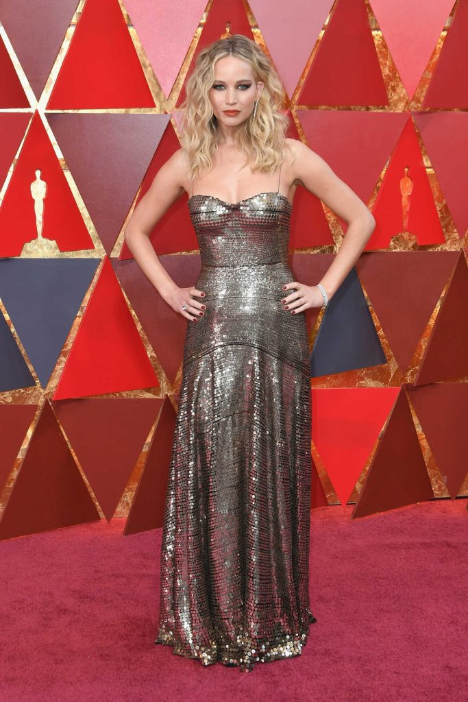 Jennifer Lawrence at the 90th Annual Academy Awards in Los Angeles 03/04/2018-4