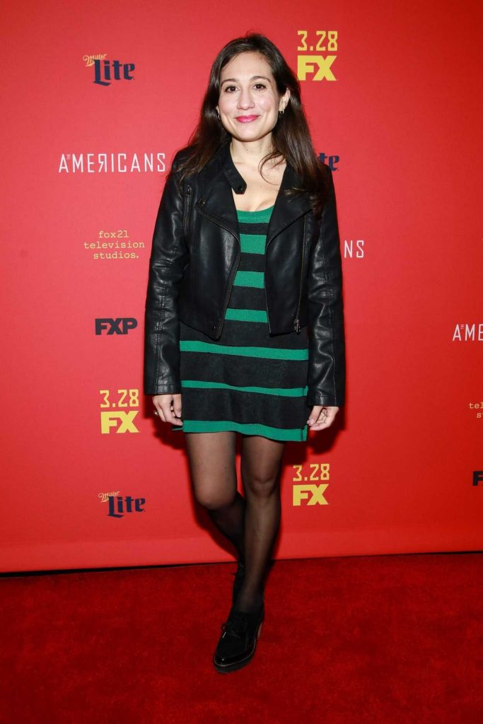 Lucy Devito at The American's TV Show Premiere in NY 03/16/2018-1