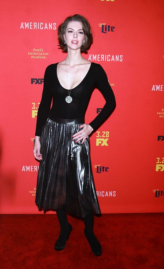 Lyanka Gryu at The American's TV Show Premiere in NY 03/16/2018-1