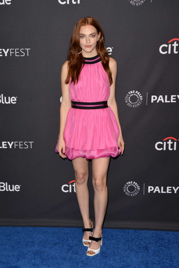 Madeline Brewer at the Handmaids Tale Screening for Media's 35th Annual PaleyFest in Los Angeles 03/18/2018-1