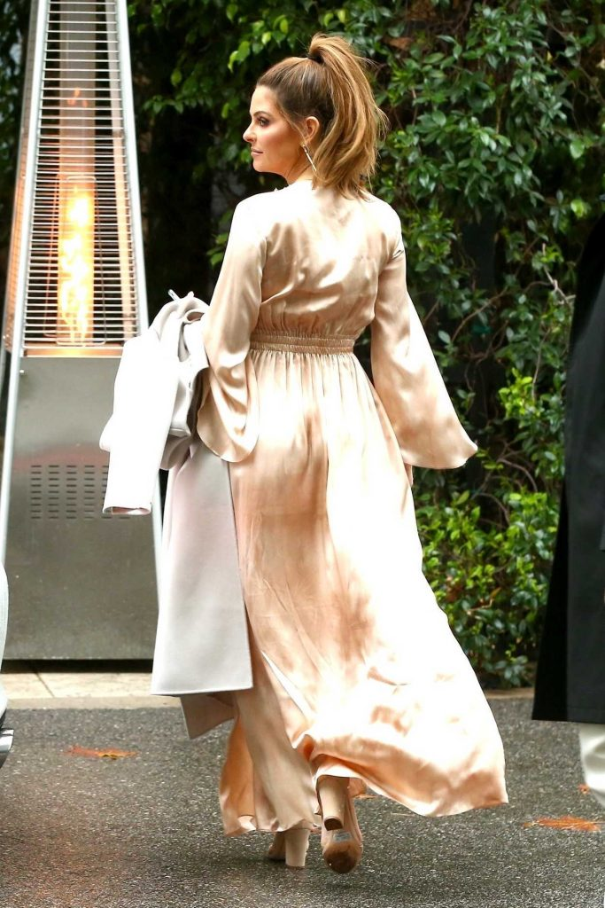 Maria Menounos Arrives at the Khloe Kardashian's Baby Shower in Bel Air 03/10/2018-4