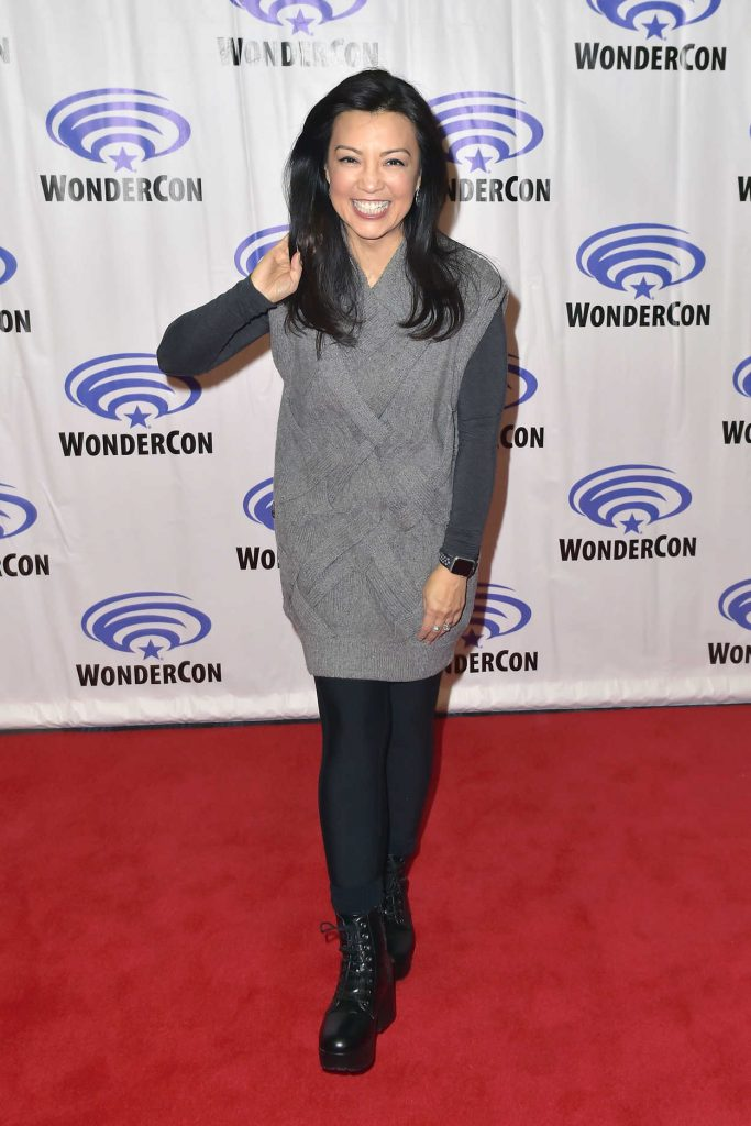 Ming-Na Wen at the Agents of S.H.I.E.L.D Photocall During 2018 WonderCon in Anaheim 03/24/2018-1