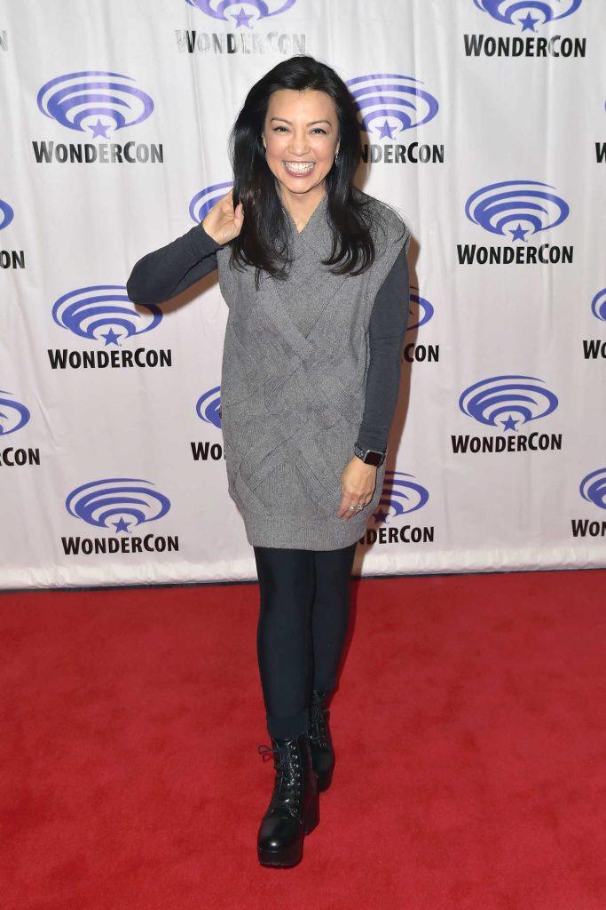 Ming-Na Wen at the Agents of S.H.I.E.L.D Photocall During 2018 WonderCon in Anaheim 03/24/2018-1