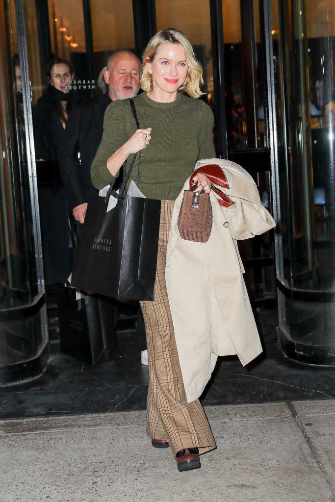 Naomi Watts Leaves the Barneys New York in New York City 03/16/2018-1