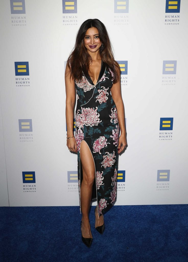 Noureen DeWulf Attends 2018 Human Rights Campaign Gala Dinner in Los Angeles 03/10/2018-2
