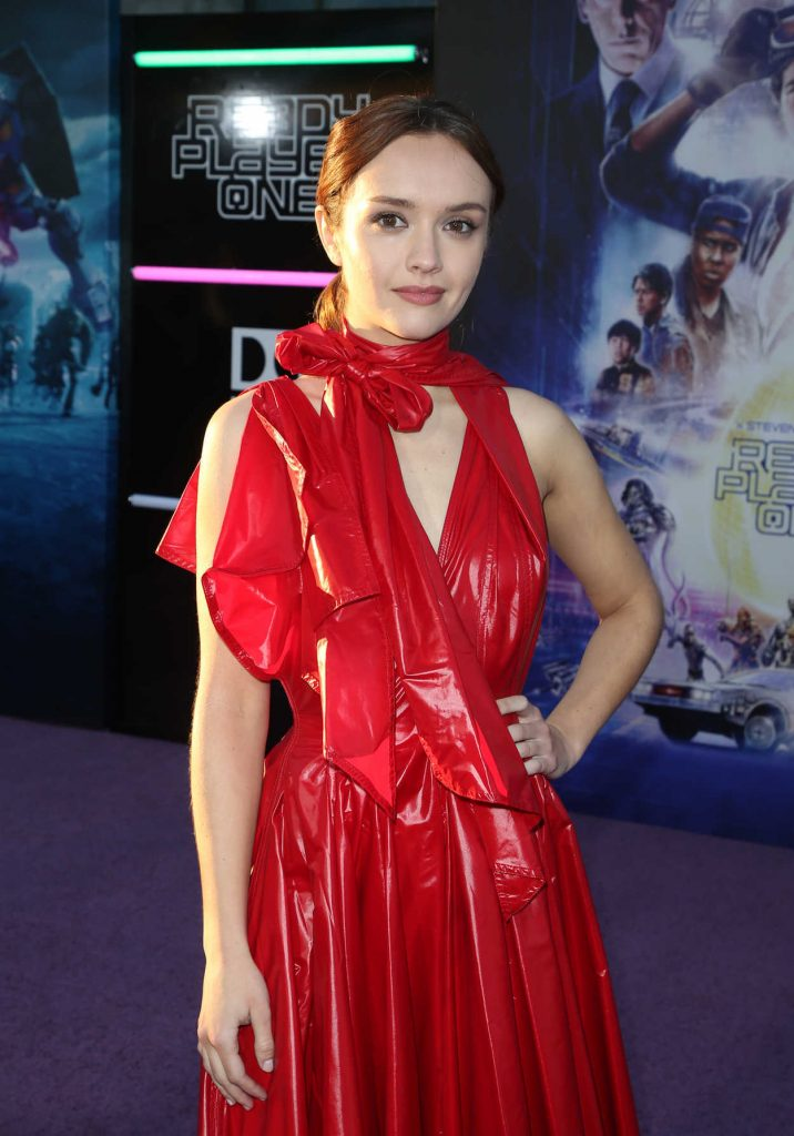 Olivia Cooke at the Ready Player One Premiere in Los Angeles 03/26/2018-4