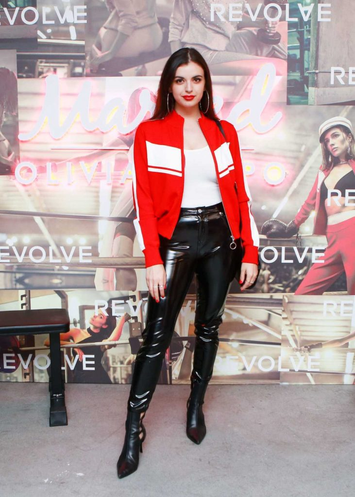 Rebecca Black at the Revolve x Marled Collaboration Event in Los Angeles 03/28/2018-1