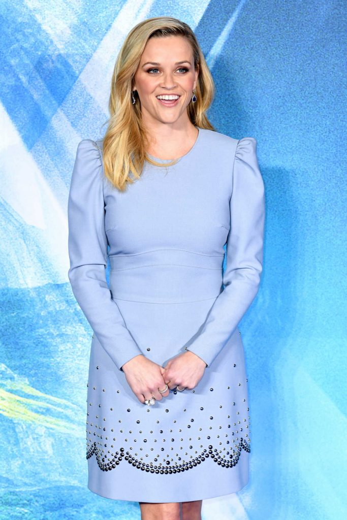 Reese Witherspoon at A Wrinkle in Time Premiere in London 03/13/2018-2