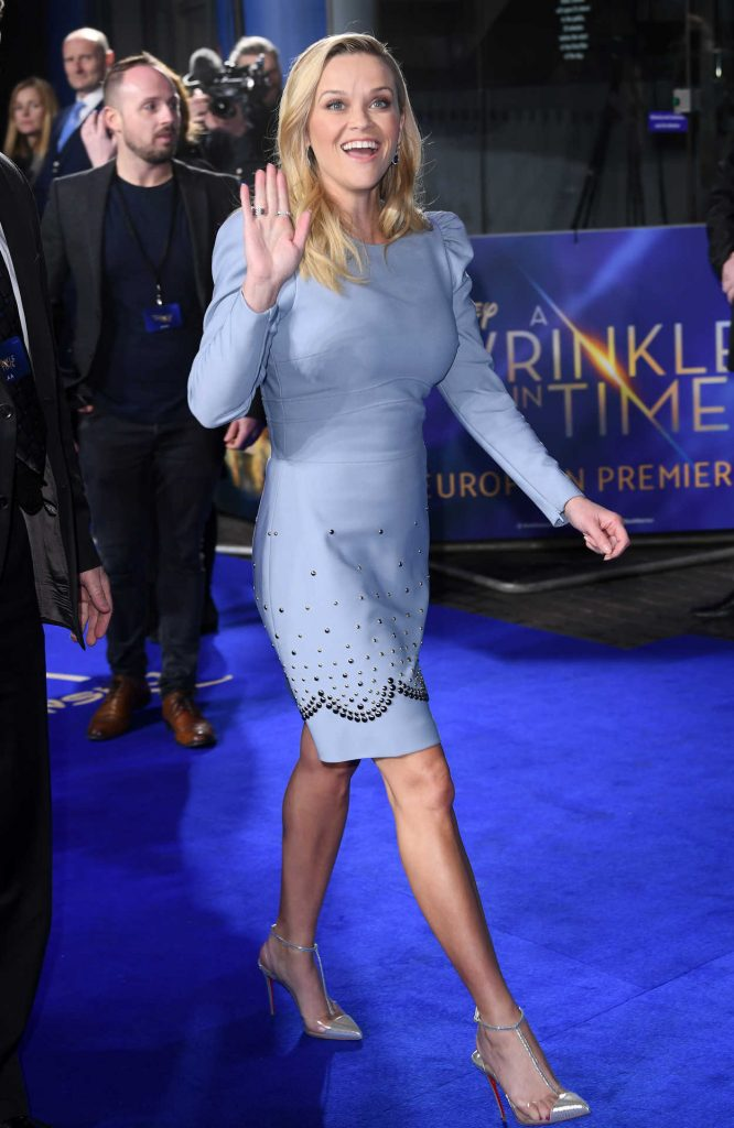 Reese Witherspoon at A Wrinkle in Time Premiere in London 03/13/2018-3