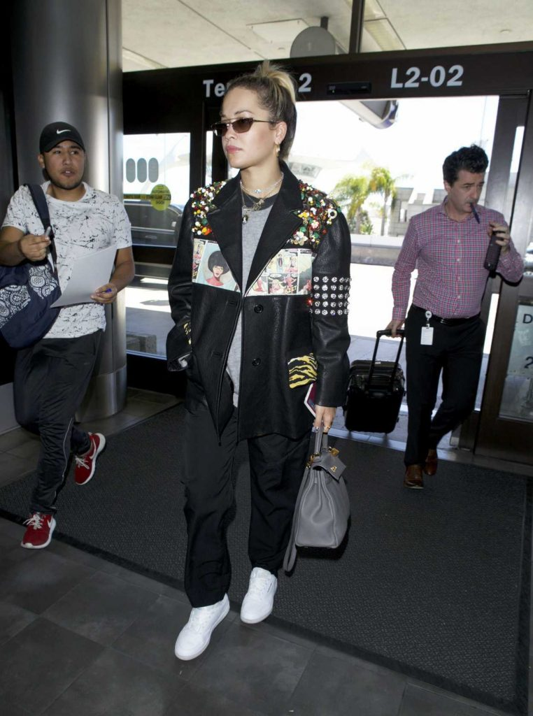 Rita Ora Arrives at LAX Airport in Los Angeles 03/28/2018-3