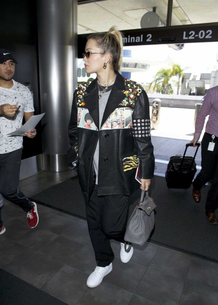 Rita Ora Arrives at LAX Airport in Los Angeles 03/28/2018-4