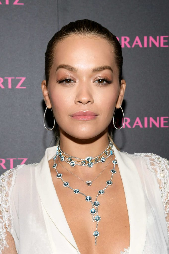 Rita Ora at the Lorraine Schwartz Eye Bangles Collection Launch at Delilah in West Hollywood 03/13/2018-4