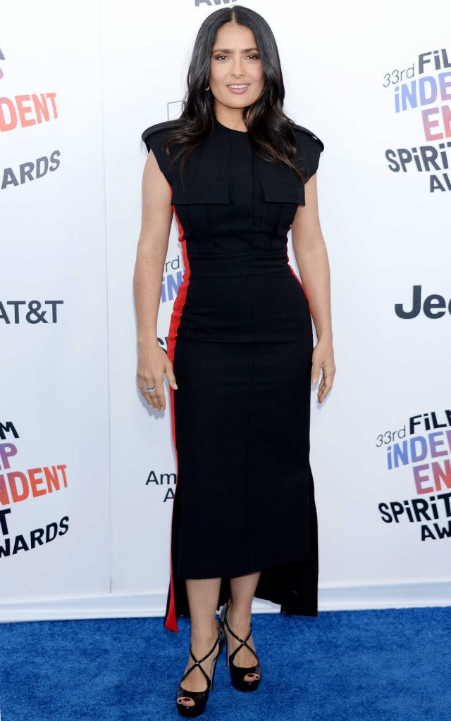 Salma Hayek at the 33rd Film Independent Spirit Awards in Santa Monica 03/03/2018-1