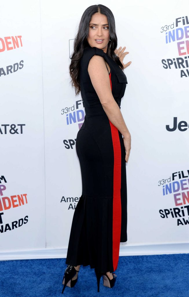 Salma Hayek at the 33rd Film Independent Spirit Awards in Santa Monica 03/03/2018-2