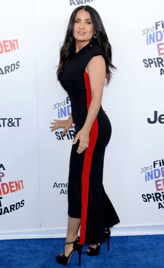 Salma Hayek at the 33rd Film Independent Spirit Awards in Santa Monica 03/03/2018-3
