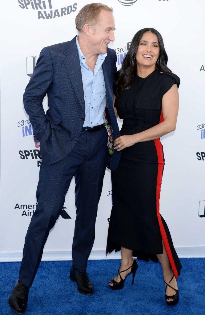 Salma Hayek at the 33rd Film Independent Spirit Awards in Santa Monica 03/03/2018-4