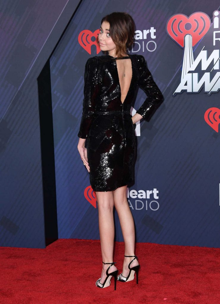 Sarah Hyland at 2018 iHeartRadio Music Awards in Inglewood 03/11/2018-4