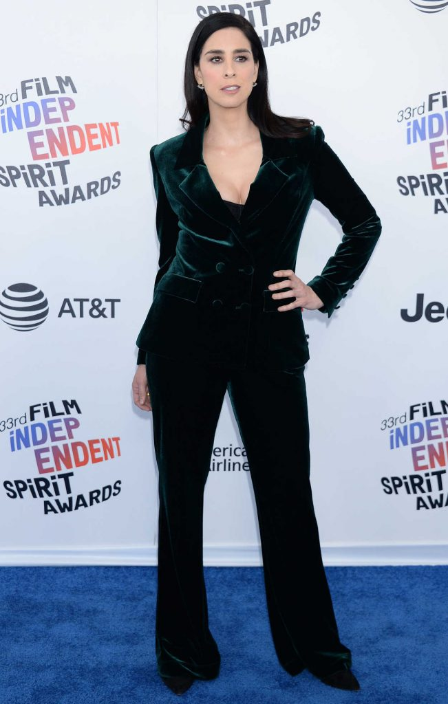 Sarah Silverman at the 33rd Film Independent Spirit Awards in Santa Monica 03/03/2018-1