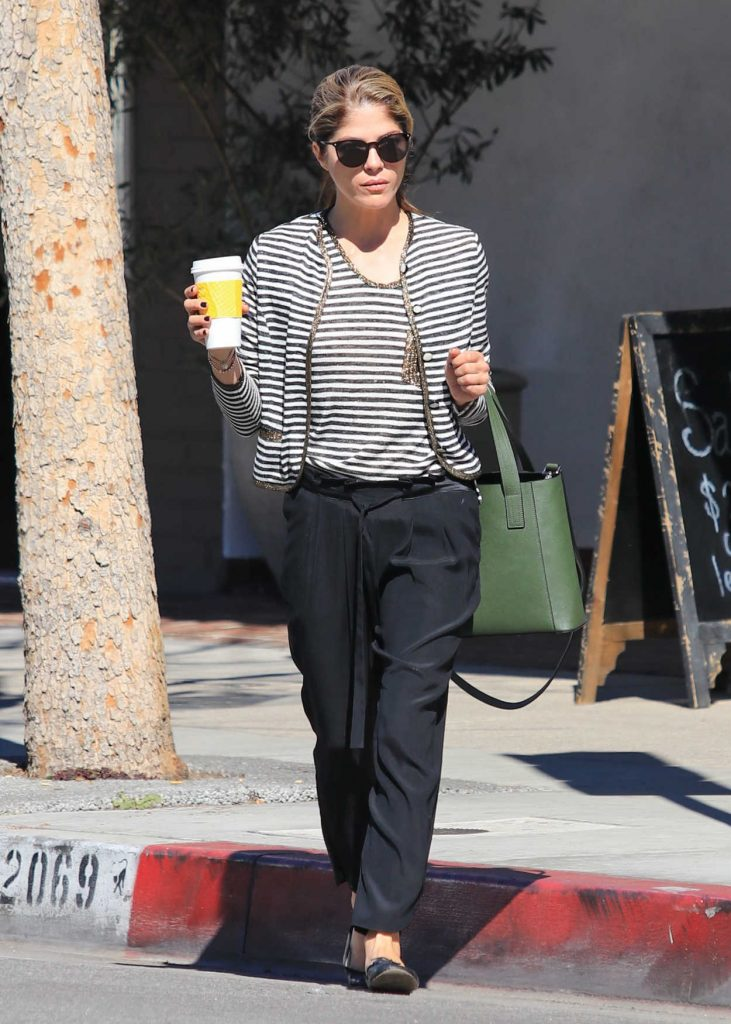 Selma Blair Grabs Coffee in Studio City 03/06/2018-1