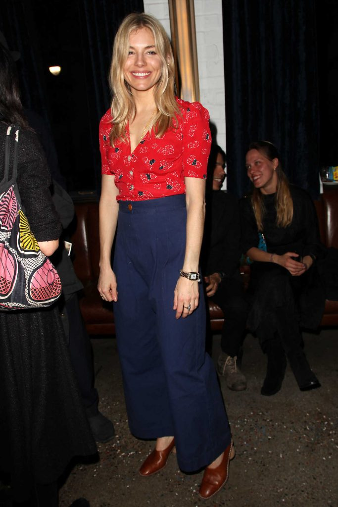 Sienna Miller at the 2nd Metrograph Anniversary Party in New York 03/22/2018-2