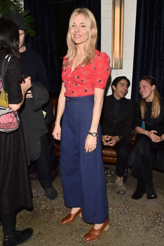 Sienna Miller at the 2nd Metrograph Anniversary Party in New York 03/22/2018-3