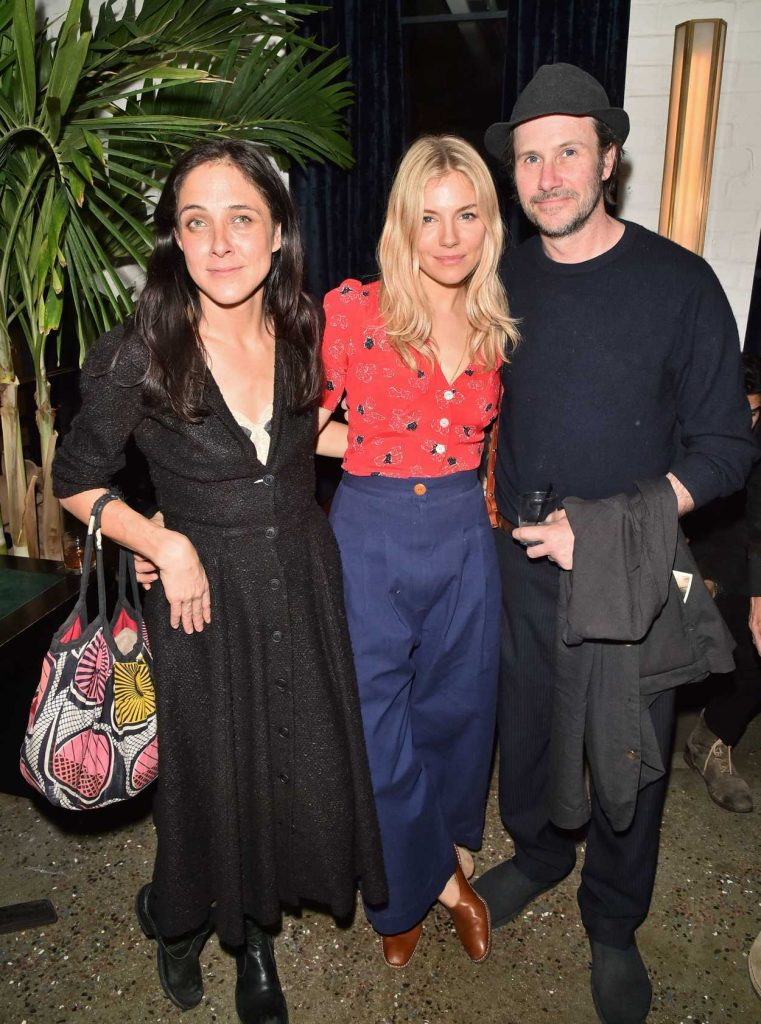 Sienna Miller at the 2nd Metrograph Anniversary Party in New York 03/22/2018-5