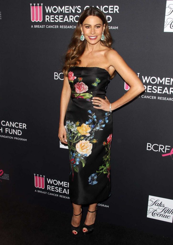 Sofia Vergara at The Women's Cancer Research Fund Hosts an Unforgettable Evening in Los Angeles 02/27/2018-1