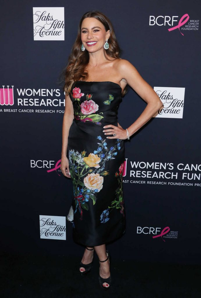 Sofia Vergara at The Women's Cancer Research Fund Hosts an Unforgettable Evening in Los Angeles 02/27/2018-2