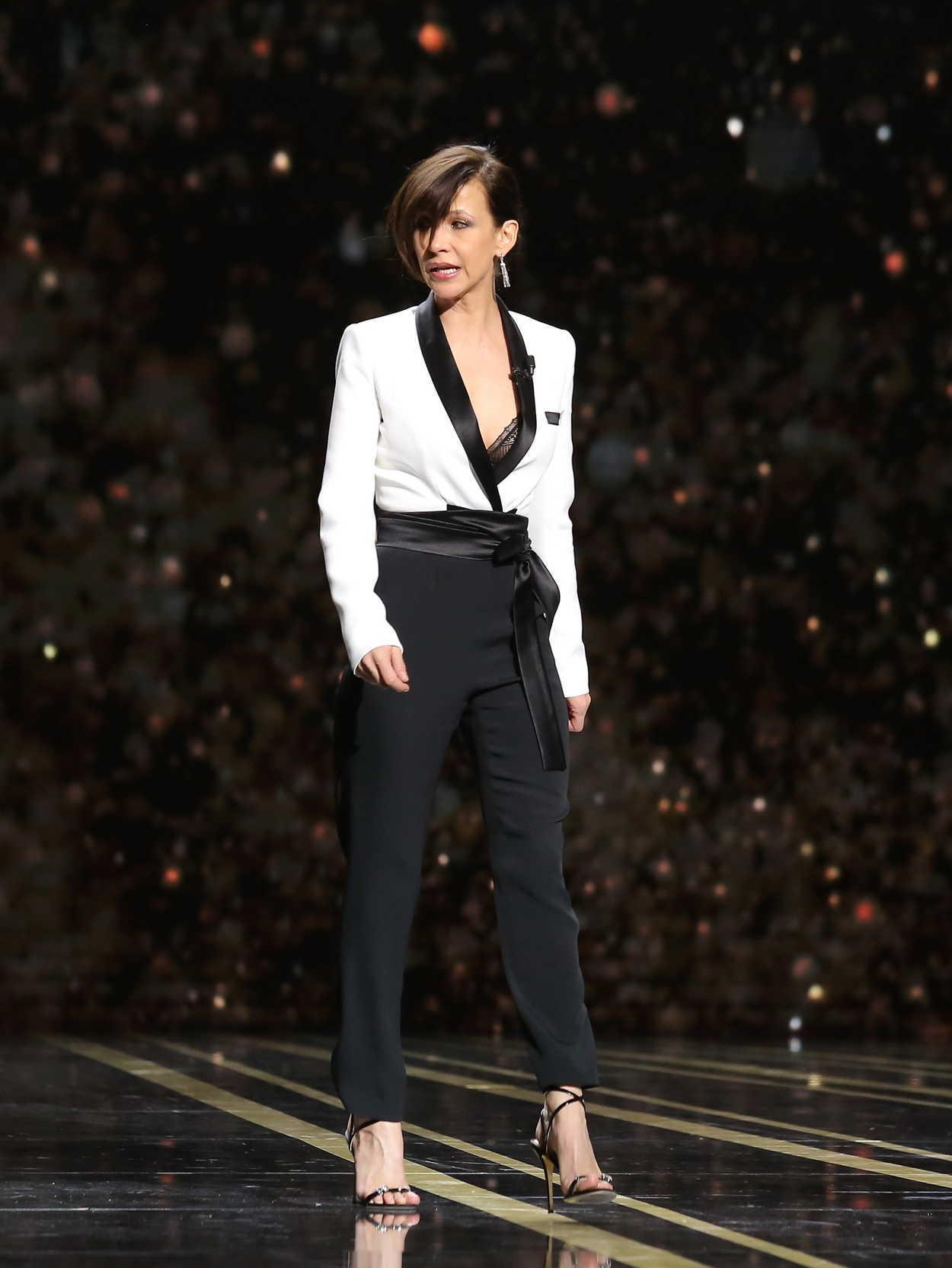 Sophie Marceau Fashion Week