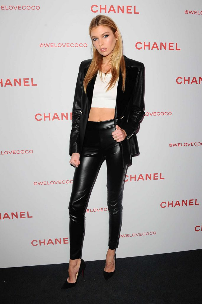 Stella Maxwell Attends the Chanel Party to Celebrate the Chanel Beauty House in LA 02/28/2018-1