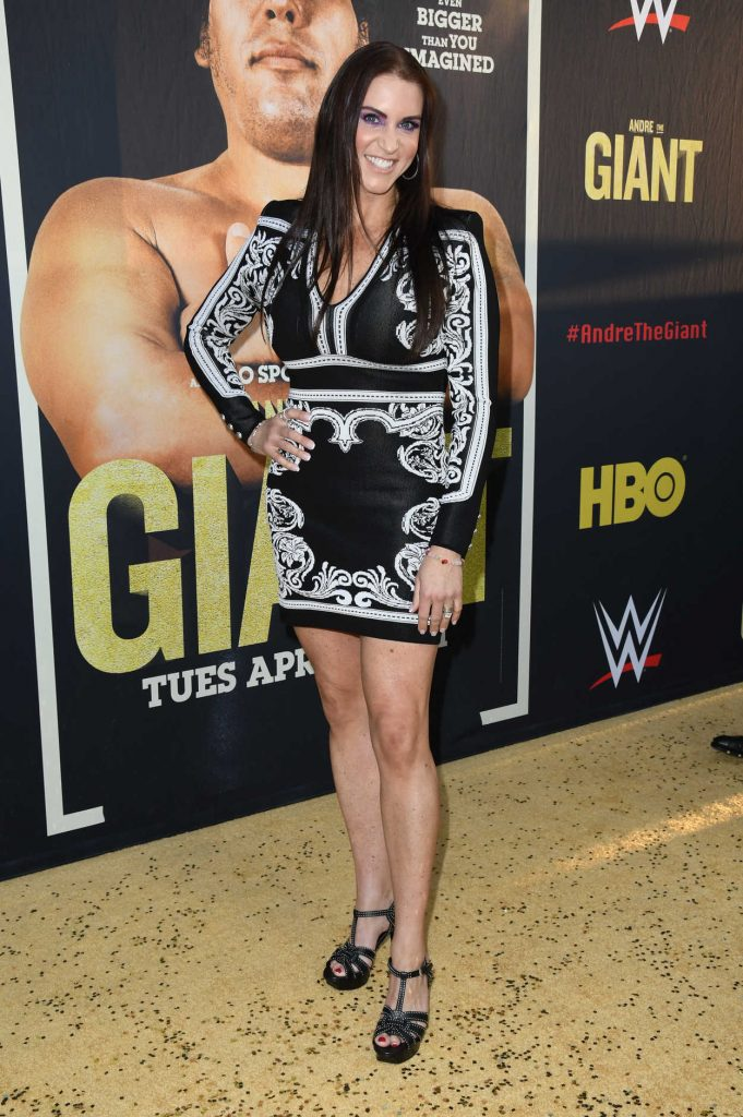 Stephanie McMahon at the Andre the Giant Premiere in Hollywood 03/29/2018-1