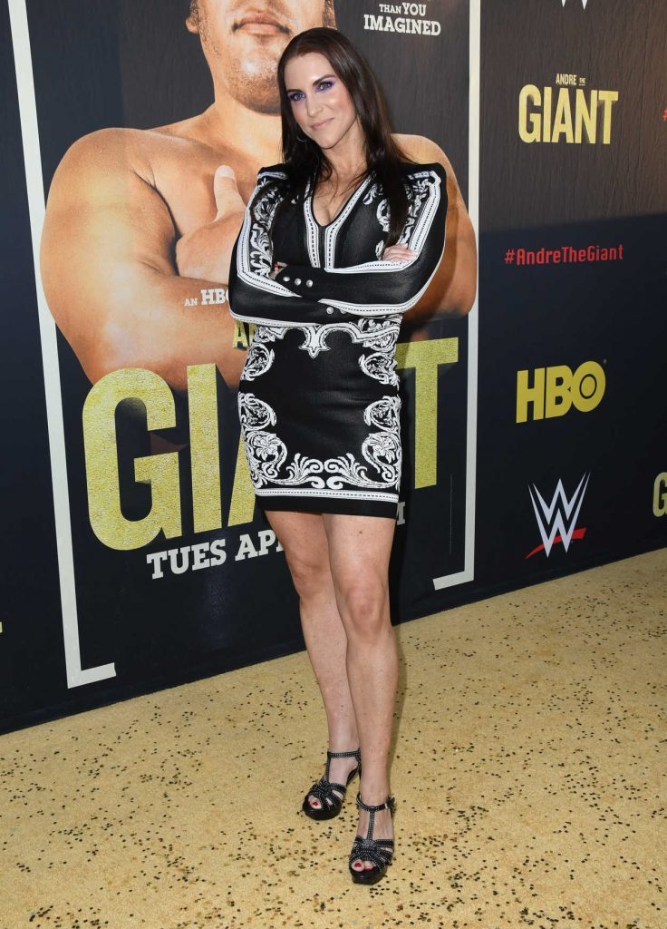 Stephanie McMahon at the Andre the Giant Premiere in Hollywood 03/29/2018-2