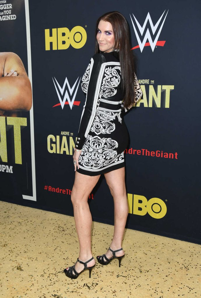 Stephanie McMahon at the Andre the Giant Premiere in Hollywood 03/29/2018-3