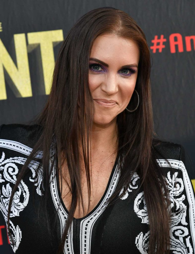 Stephanie McMahon At The Andre The Giant Premiere In