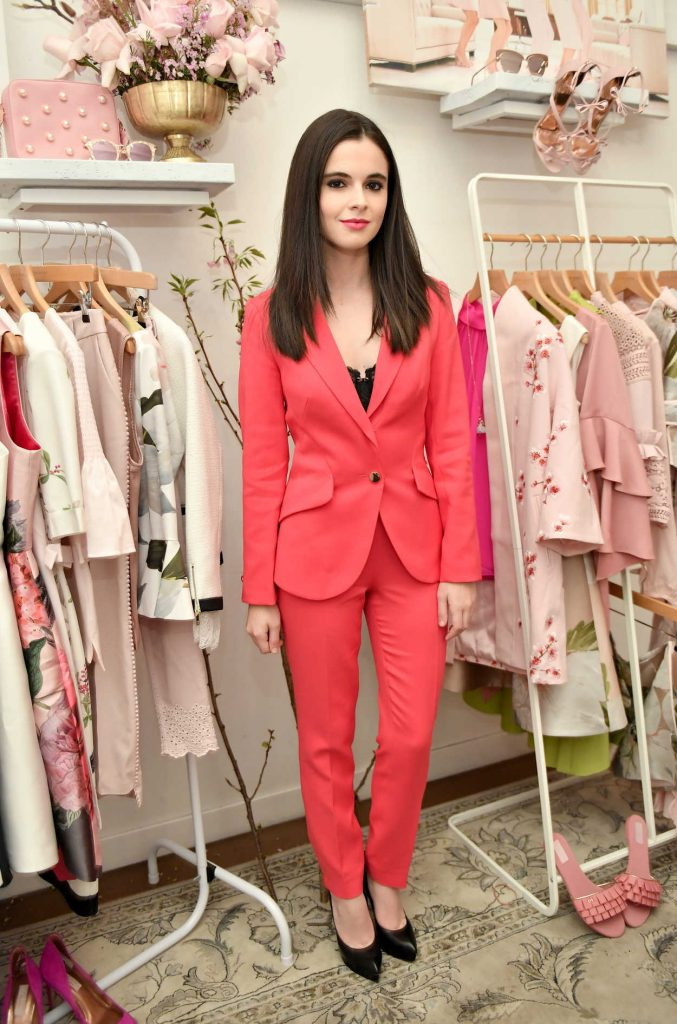 Vanessa Marano at the Ted Baker London SS'18 Launch Dinner in Los Angeles 03/15/2018-1