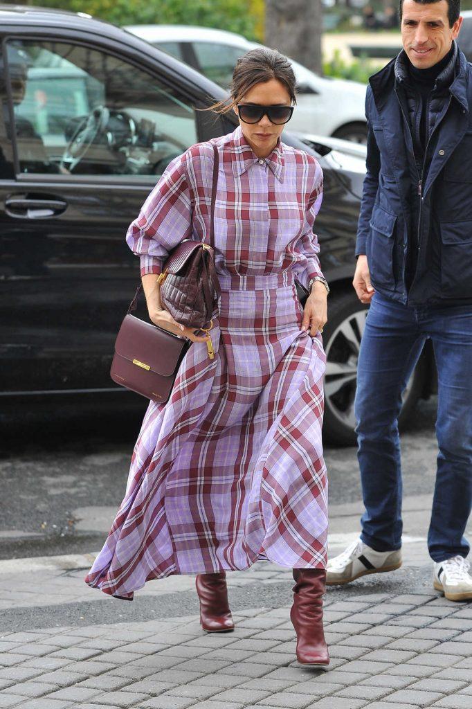 Victoria Beckham Arrives at the MusÈe des Arts DÈcoratifs Museum in Paris 03/28/2018-3