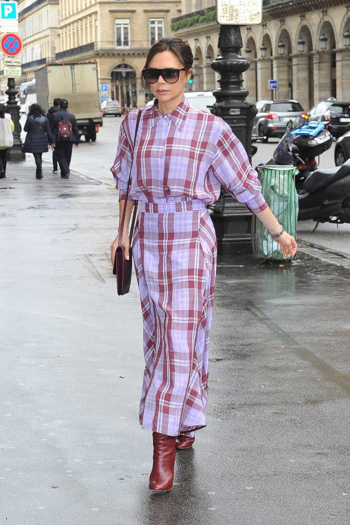 Victoria Beckham Arrives at the MusÈe des Arts DÈcoratifs Museum in Paris 03/28/2018-5