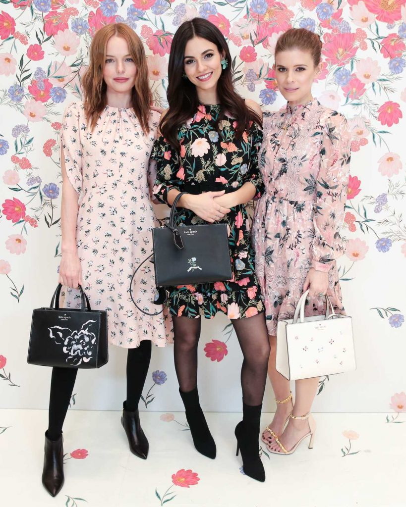Victoria Justice at the Kate Spade Bloom Bloom Event in New York 03/20/2018-5