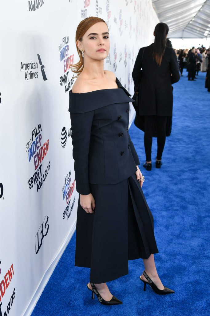 Zoey Deutch at the 33rd Film Independent Spirit Awards in Santa Monica 03/03/2018-2
