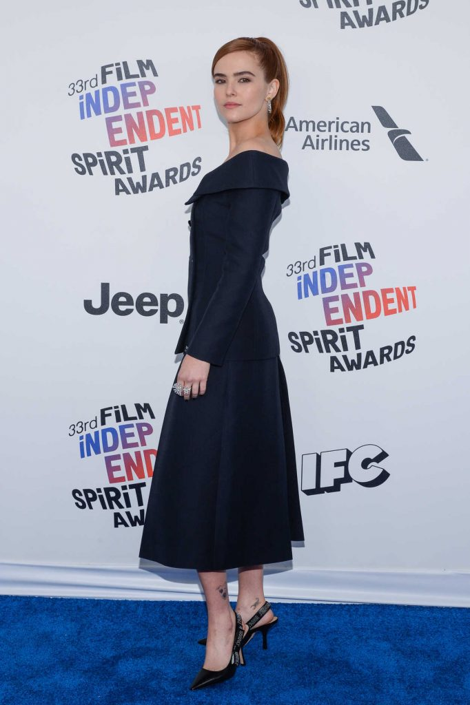 Zoey Deutch at the 33rd Film Independent Spirit Awards in Santa Monica 03/03/2018-3