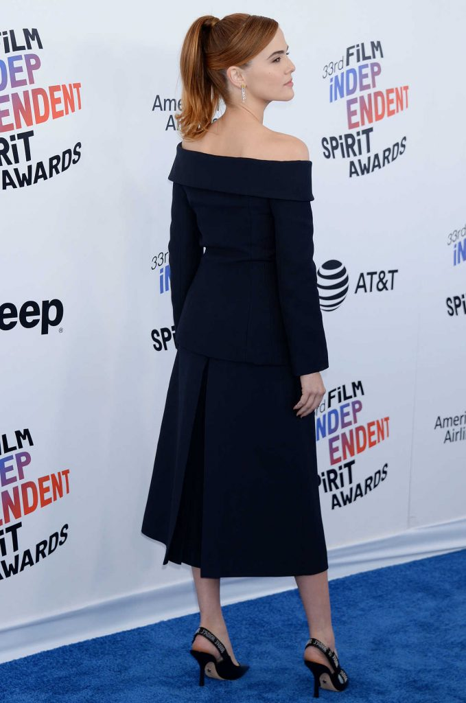 Zoey Deutch at the 33rd Film Independent Spirit Awards in Santa Monica 03/03/2018-4
