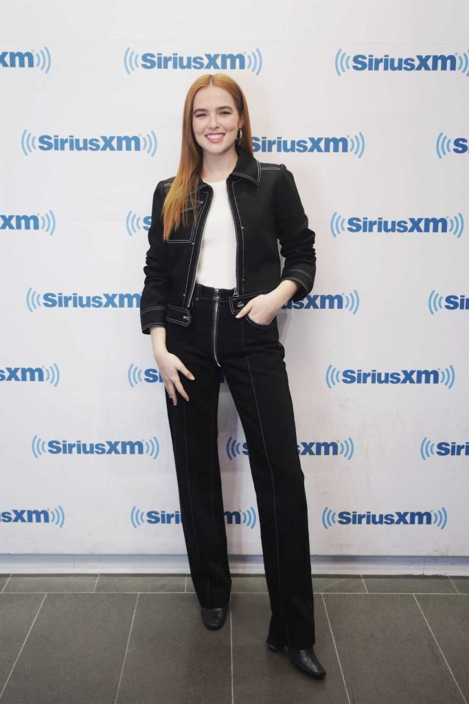 Zoey Deutch Visits SiriusXM Studios in New York City 03/20/2018-2