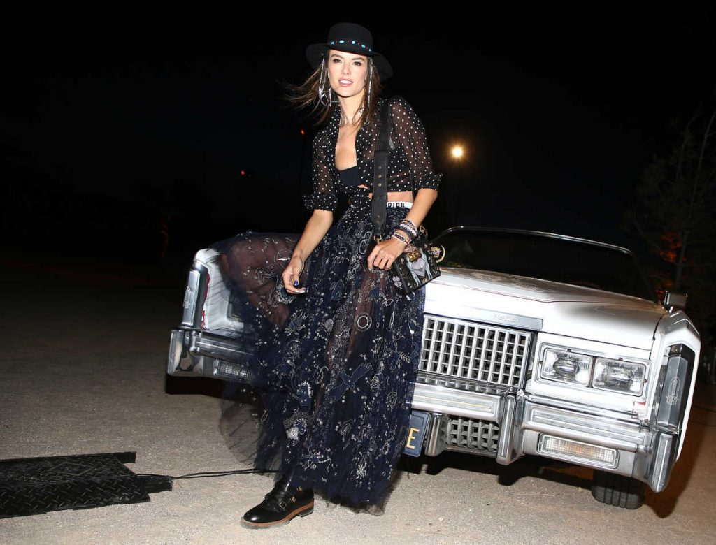 Alessandra Ambrosio at Dior Sauvage Party in Pioneertown 04/12/2018-5