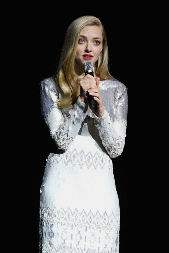 Amanda Seyfried at Universal Pictures Presentation During the CinemaCon in Las Vegas 04/25/2018-4