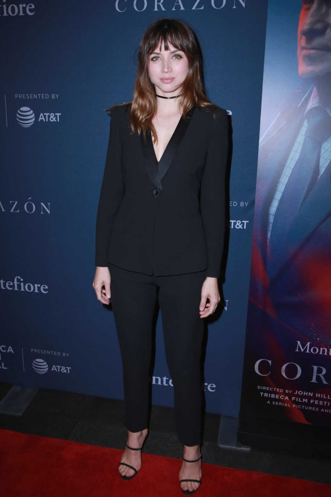 Ana de Armas at the Corazon Screening During the Tribeca Film Festival in New York City 04/22/2018-2